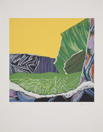 Kenneth Kemble, 'Paisaje de juguete amarillo', 1987