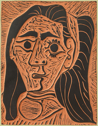 Pablo Picasso, 'Femme au Cheveux Flous (Fluffy-haired Woman)', 1964