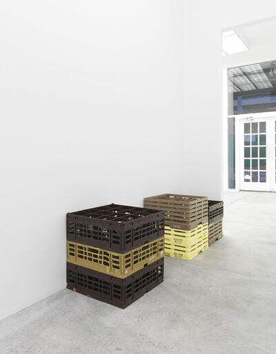 Dominic Samsworth, 'untitled crate stack', 2015