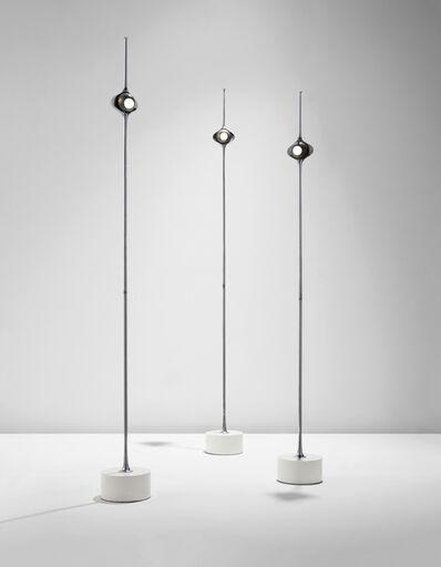 "Angelo Lelii, 'Three rare ""Cobra"" floor lamps, model no. 12919s', circa 1970"