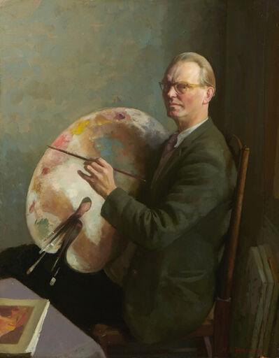 Hubert Arthur Finney, 'Self Portrait', ca. 1960