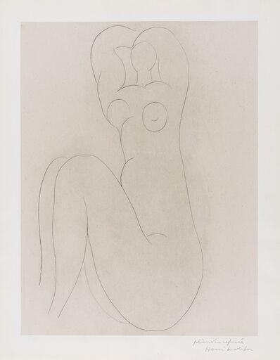Henri Matisse, 'Nu au bras levés (Hommage - Quelle suit aux baumes de temps) (Duthuit Books no.5 p30-32)', 1932