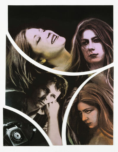 Annette Messager, 'Feuilleton 2eme Episode: L'hesitation', 1977, 78/1977, 78