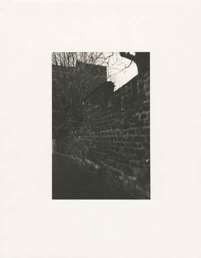 Tomio Seike, 'Rue Becquerel - 'brick wall', Paris, February 1992', 1992