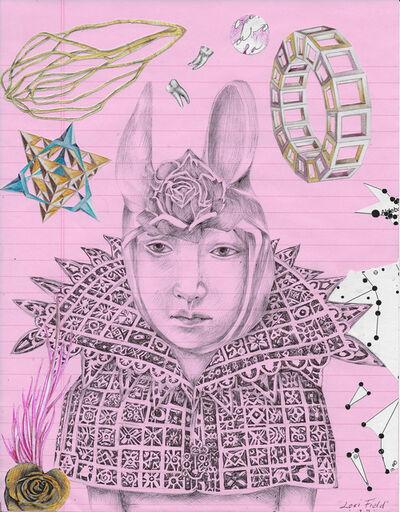 Lori Field, 'My Bunny Queen', 2020