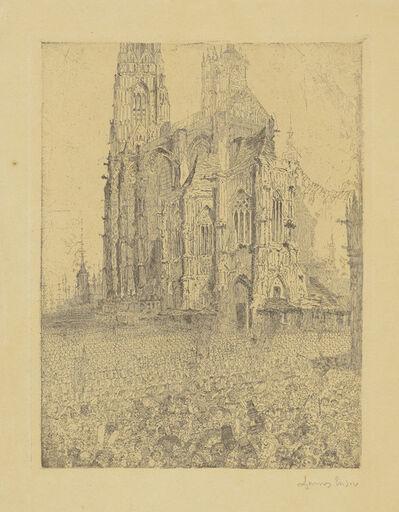 James Ensor, 'La Cathédrale (The Cathedral)', 1886