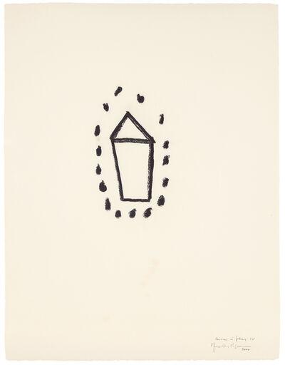 Joan Hernández Pijuan, 'Casa i flors IV. 104', 2000