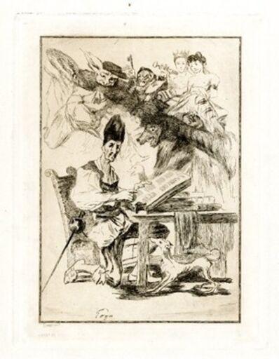 Félix Bracquemond, 'Don Quixote', 1860