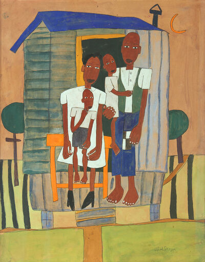 William Henry Johnson, 'Homesteaders', ca. 1942