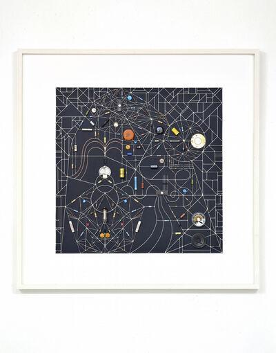 Leonardo Ulian, 'Technological Mandela 116 (Transit Within Black Square)', 2017