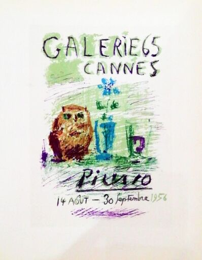 Pablo Picasso, 'Galerie 65 Cannes', 1959
