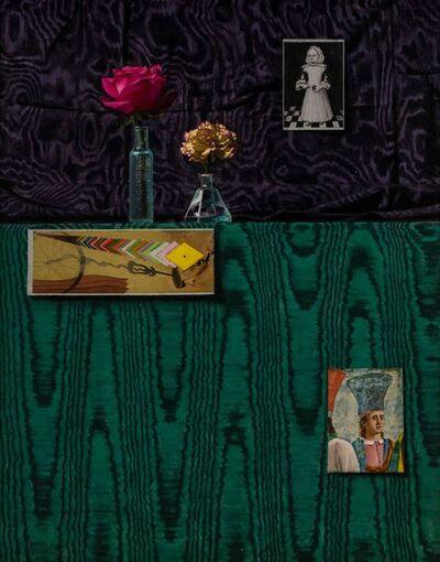 Daniel Greene, 'Green Moire & Piero', 2001