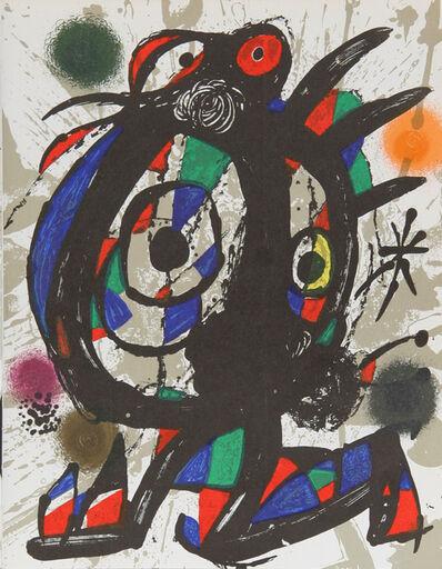 Joan Miró, 'Lithograph I (1113)', 1975