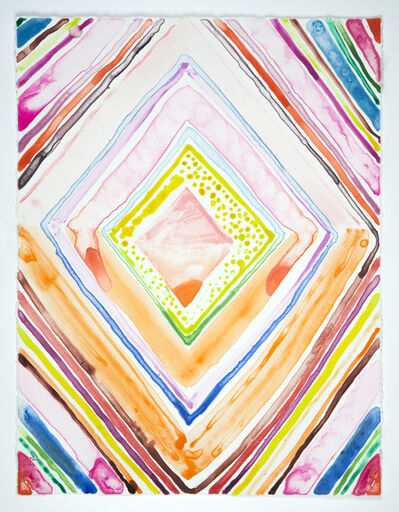 Judy Ledgerwood, 'Yoni #3', 2020