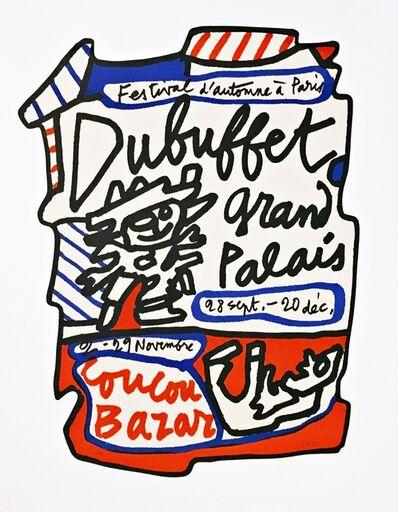 Jean Dubuffet, 'Coucou Bazar', 1973