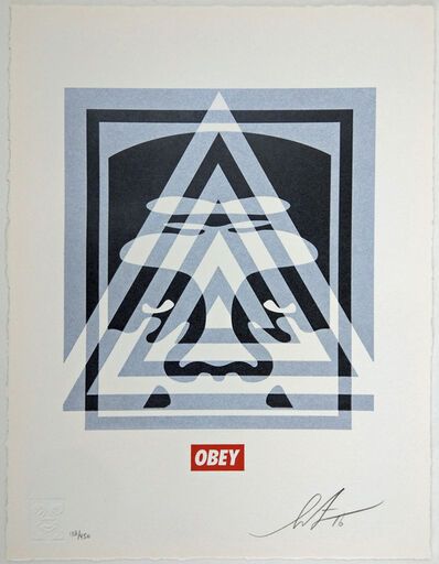 Shepard Fairey, 'Pyramid Top Icon', 2016