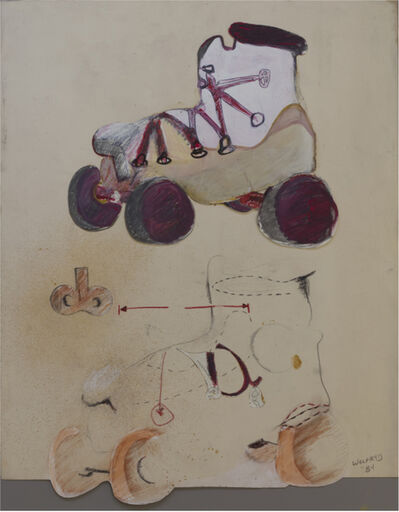 Barry Wolfryd, 'Roller Skate Analysis', 1984