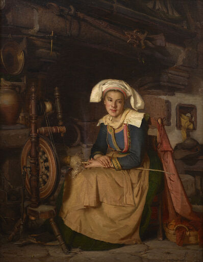 Robert Wylie, 'Breton Girl', 1871
