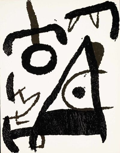 Joan Miró, 'Untitled (D.1294, Miro Graveur Volume III)'