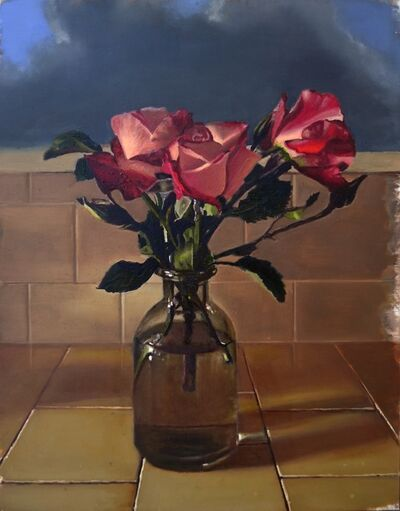 Scott Kiche, 'Bouquet of Roses by Kitchen Window', 2018