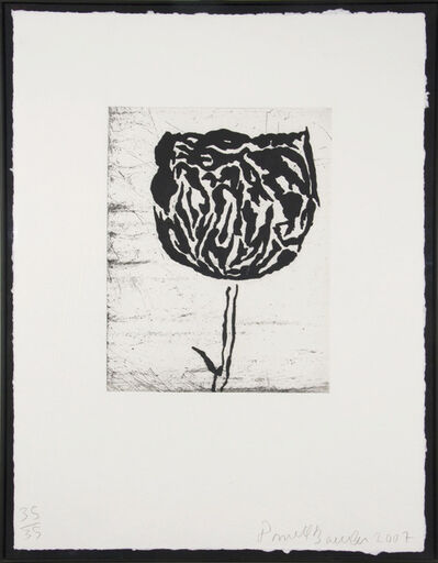 Donald Baechler, 'Flower IV', 2007