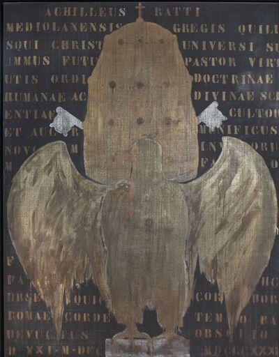 Franco Angeli, 'Papal Crest (Achilleus Ratti) (Stemma pontificio [Achilles Ratti])', 1964