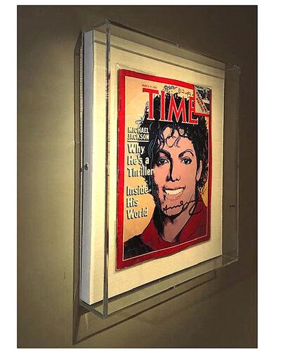 Andy Warhol, 'Time Magazine, SIGNED, 1984, Estate of Dealer Dorothy Berenson Blau, UNIQUE', 1984