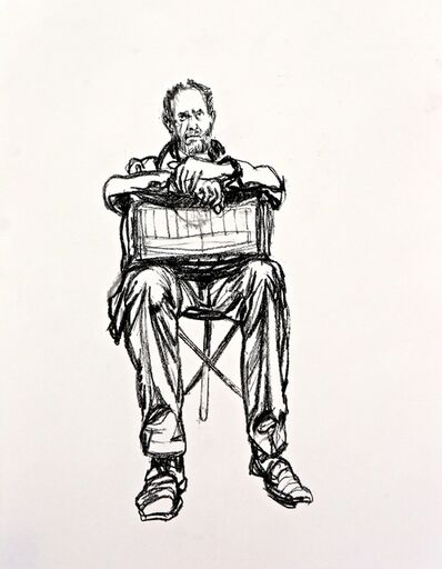 Sean Henry, 'Seated Figure (sketch 1)', 2015