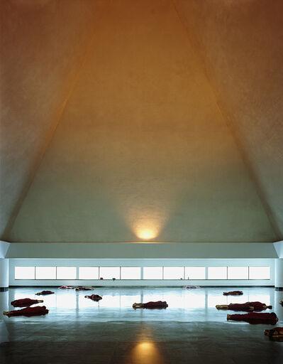 """Sasha Bezzubov and Jessica Sucher, '""""Osho No Dimensions Meditation"""" Pune, India', 2006"""