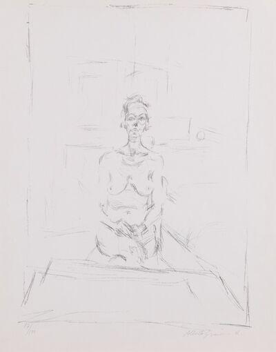 Alberto Giacometti, 'Nu assis (Lust 53) ', 1965