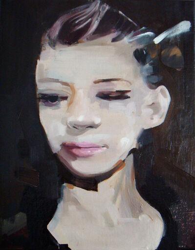 Richard Butler, 'Agirlwithabee', 2016