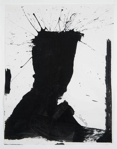 Richard Hambleton, 'Shadow Head (Black and White 15)', 1952-2017