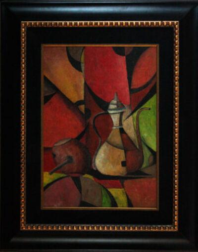 Ivan Kliun, 'Cubist Teapot'