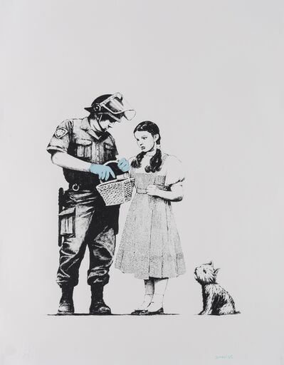 Banksy, 'Stop and Search (Signed)', 2007