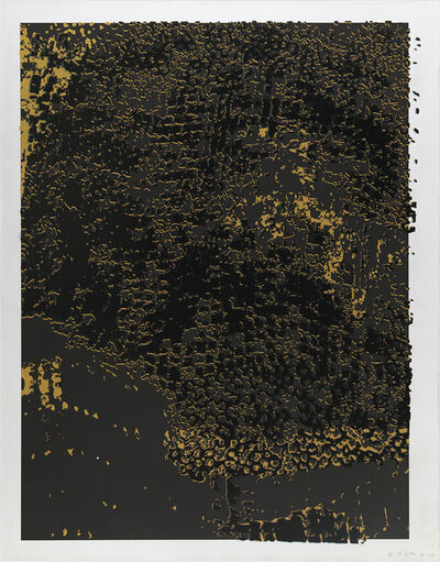 El Anatsui, 'Untitled (Black Frame)', 2013