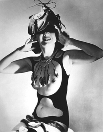 "Horst P. Horst, 'Costume Designed for ""The Dream of Venus"" by Salvador Dali'"