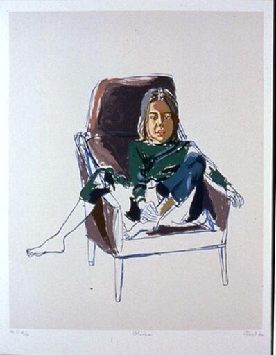 Alice Neel, 'Olivia (in brown chair)', 1980