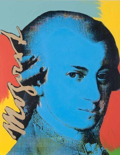 Steve Kaufman, 'Mozart (State II)'