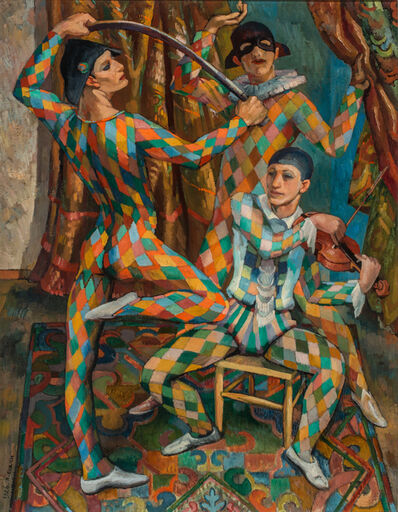 Richard Eurich, 'Harlequins', 1926