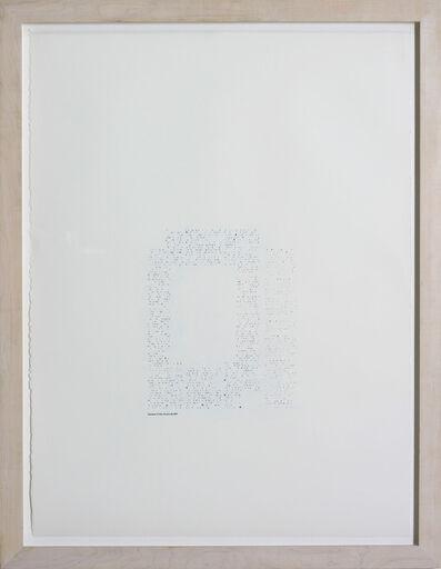 Frances Stark, 'Stephen Malkmus/Aphex Twin', 1997