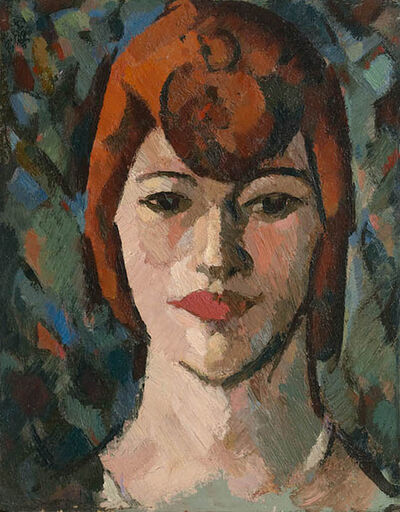 JD Fergusson, 'Dark Woman', 1916