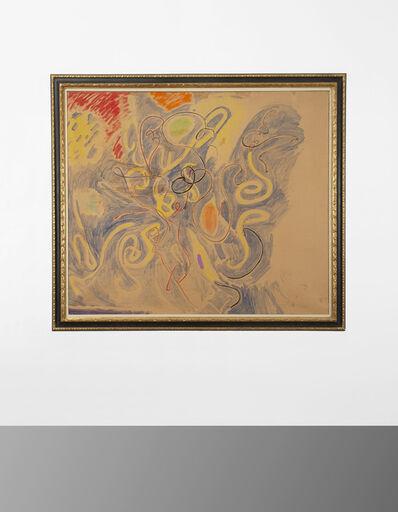 Tancredi, 'Realtà del movimento materiale di una scrittura in rapporto allo spazio', 1960