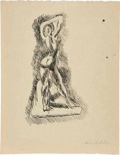 Henri Matisse, 'Nu campé bras sur la tête', 1906
