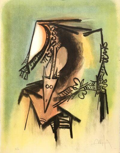 """Wifredo Lam, '""""Les Loas petro enfantent dans la danse""""', 1974"""