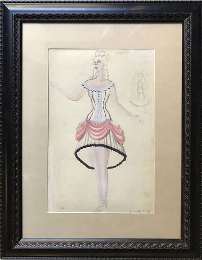 Vasily Shukhaev, 'Costume Design', 1946