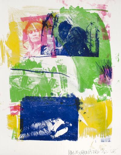 Robert Rauschenberg, 'Storyline I', 1968