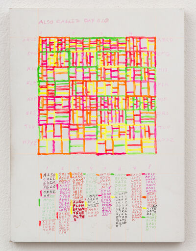 Leslie Roberts, 'ALSO CALLED DAY-GLO', 2016