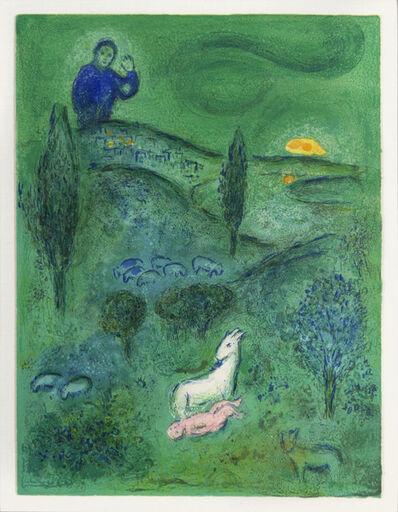 Marc Chagall, 'Daphnis and Chloé: Lamon Discovers Daphnis', 1961
