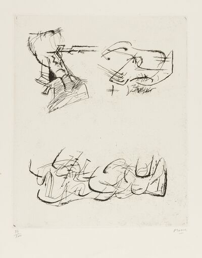 Henry Moore, 'Three Motives (Cramer 157)', 1970