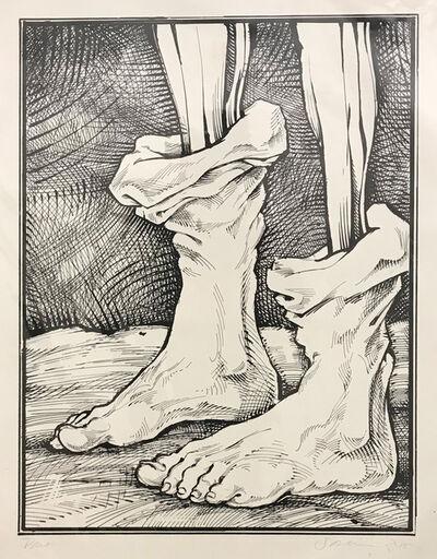 Sam Vaughan, 'Peeled Feet', 2017